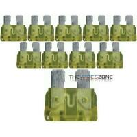The Wires Zone ATC20 10 Pack Fuse ATC 20 Amp 20A Automotive