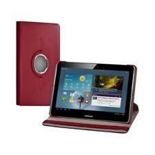Housse coque étui pour Samsung Galaxy Tab 2 P5110 de luxe avec sytème de rotatio
