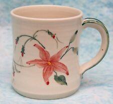 Studio Art Pottery Mug Owley Pottery Sussex Signed Carolyn Wright Porcelain Mug