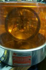 Federal signal  Model 14 light very nice collectors amber lens