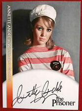 THE PRISONER - ANNETTE ANDRE as Watchmaker's Daughter - AUTOGRAPH CARD
