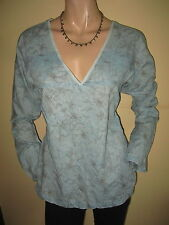 Fat Face Cotton Long Sleeve V Neck Tops & Shirts for Women