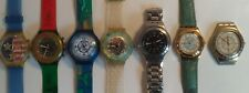 Lot montres vintage SWATCH SWISS