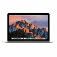 Apple MacBook 12-inch,1.2GHz dual-core Intel Core m3, 8GB RAM, 256GB SSD - Gold-