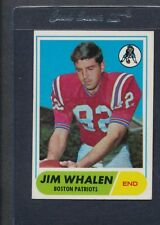 1968 Topps #020 Jim Whalen Patriots EX *51