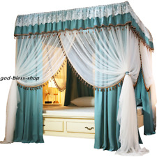 mosquito net with stainless steel frames double layers bed netting curtain queen
