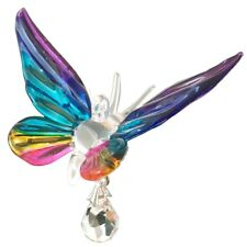 Fantasy Verre Papillon Suncatcher Avec Swarovski Cristal - Tropical