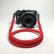 Kameragurt rot 110 cm Kameraseil Schultergurt Tragegurt Camera Strap