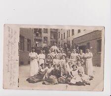 Old Poland Photo WWI Breslau Wrocław Uczennice Stara Polska