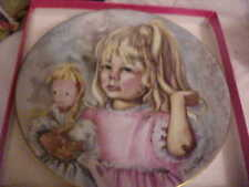 Mothers Day, Pinky And Baby, Porcelain Plate Limoges France /1976 Limited Ed