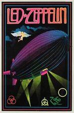1970s LED ZEPPELIN blacklight poster replica magnet - new!