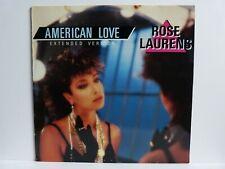 """Rose Laurens – 12"""" Maxi – American Love"""