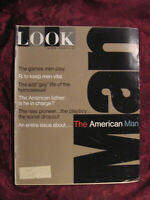 LOOK Magazine January 10 1967 The American Man Hugh Hefner Norman Rockwell