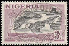 Scott # 84 - 1953 - ' Jebba Bridge Over Niger River '