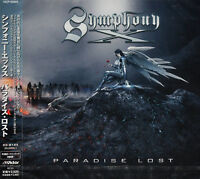 SYMPHONY X - PARADISE LOST, ORG 2007 JAPAN CD + OBI +2 B/T, NEW - SEALED!