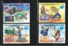 MALDIVAS. Año: 1986. Tema: WALT DISNEY.