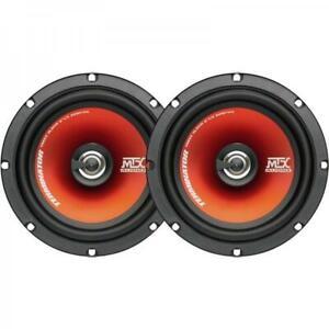 """MTX TR65C Terminator 17cm 6.5"""" 2 Way 240 watts Car / Van Coaxial Audio Speakers"""
