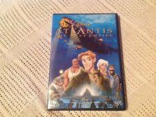 Atlantis - The Lost Empire (DVD, 2002) White Writing On Spine Classic 40 Disney