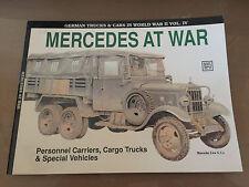 SCHIFFER MILITARY PUBLISHING VOL. 41 - MERCEDES AT WAR