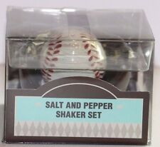 Hallmark Baseball and Glove Mitt Salt & Pepper Shakers - Softball Coach Gift