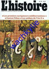 L'histoire n°13 - 06/1979 Gaston Fébus Bruges Huysmans