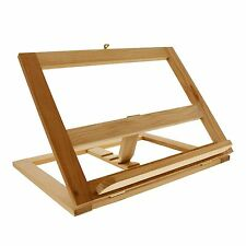 Dictionary Stand Display Book Bible Holder Wooden Bookrack Reading Stand ON SALE