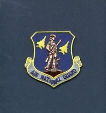AIR NATIONAL GUARD ANG USAF COMMAND Squadron Patch Blue