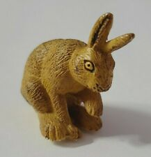 "Safari Animal Figure Wildlife Mammal Hare Bunny Rabbit Small 1.75"" Tall"