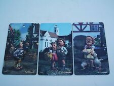 Set Of 3 M.J.Hummel Goebel Pictura Riocolor Ars West Germany