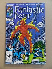 Fantastic Four 289 . J.Byrne . Blaastar App .Marvel 1986 . VF +