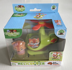 """Fat Brain Toys Timber Tots """"Helicopter Rachel""""Dollhouses for Ages 2 to 6"""