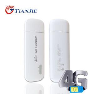 Mini 4G USB Modem VPN Unlocked LTE Wifi Router Car Modem Mobile SIM Card Hotspot