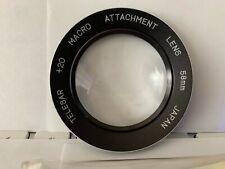 TELESAR +20 Macro Attachment Lens 58mm ,Japan