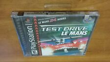 Test Drive: Le Mans (Sony PlayStation 1, 2000) ps1 psx fun car racing game NEW