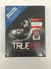 TRUE BLOOD HBO SEASON 2 THE COMPLETE SECOND SEASON 5 DISC BLU-RAY DVD NEW!