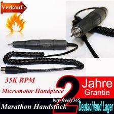 Dental Mikromotor 35K rpm Handstück Marathon Handpiece für N2 N3 Poliergeräte DE