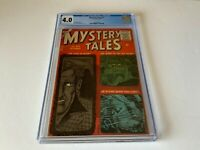 MYSTERY TALES 45 CGC 4.0 THE MAN IN BLACK HORROR ATLAS COMICS 1956