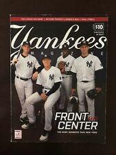 YANKEES Magazine October 2016 Baby Bombers Judge, Sanchez, Bird, Severino cover