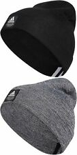 adidas Men's Amplifier Beanie Winter Hat Skull Cap Black or Grey One Size