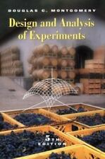 Design and Analysis of Experiments, 5th Edition Montgomery, Douglas C.