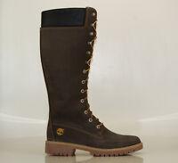 Timberland 14 Inch Premium Boots Gr 40 US 9W Damen Stiefel Schnürstiefel