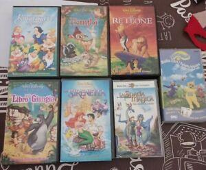 Videocassette Walt Disney - Warner Bros VHS cartoni animati