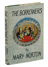 THE BORROWERS by Mary Norton ~ First Edition 1952 ~ 1st Novel in Series ~ UK