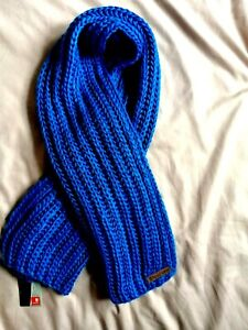 Fenchurch Cobble Scarf One Size Blue scarve - Brand New With Tag