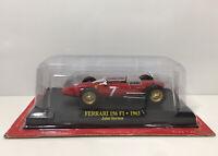 1/43 Hachette Ferrari 156 F1 1963 John Surtees Diecast Car Model #7