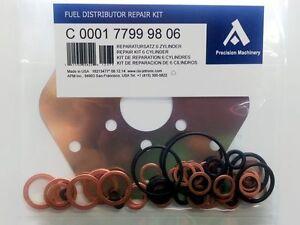 0438100109 Repair Kit for Bosch Fuel Distributor DeLorean DMC-12 Engine PRV