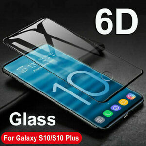 Samsung Galaxy S10e Tempered Glass Screen Protector Film 6D Curved