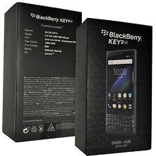 Nuevo Blackberry KEY2 LE 64GB pizarra BBE100-4 Dual-Sim QWERTZ Desbloqueado de fábrica 4G