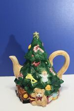 Christmas Tree Shaped Teapot by Jay Imports