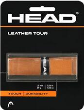 Vendo nuovo grip racchetta tennis in cuoio Head Leather Tour in omaggio overgrip